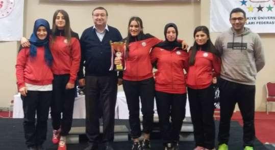 DPÜ Bilek Güreşi Takımı Türkiye Şampiyonu