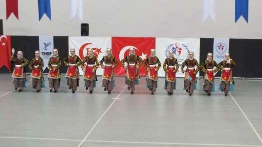 Halk Oyunlar Yıldızlar-Gençler yarışması Kayseri'de