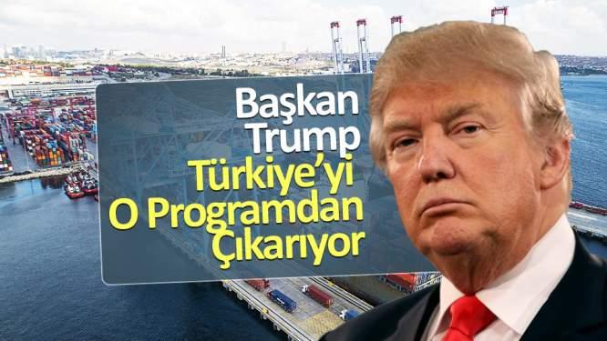 ABD, Türkiye'yi o programdan çıkarıyor