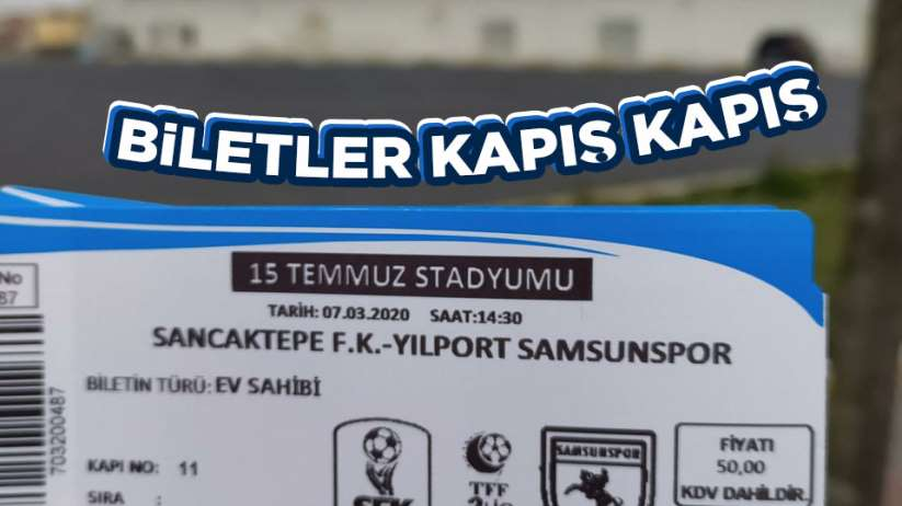 Samsunspor maç biletler kapış kapış