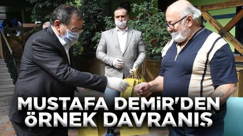 Mustafa Demir'den örnek davranış