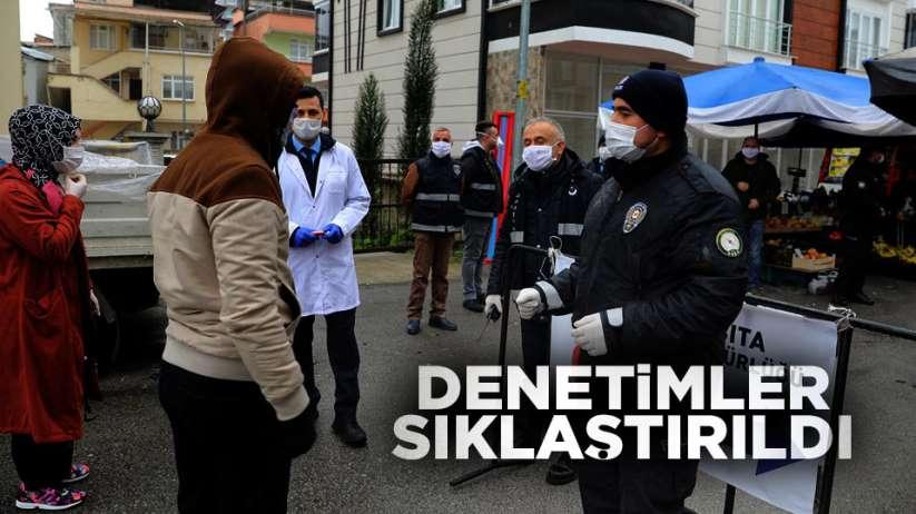 Samsun'da denetimler sıklaştırıldı