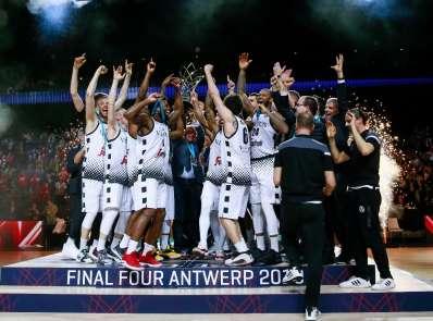 FIBA Şampiyonlar Ligi şampiyonu Bologna