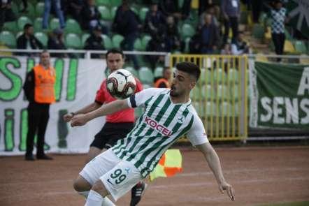 Spor Toto 1. Lig: Giresunspor: 1 - Adana Demirspor: 0 (İlk yarı sonucu)