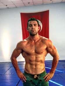 Sinoplu güreşçi Mehmetbeyoğlu Avrupa ikincisi oldu