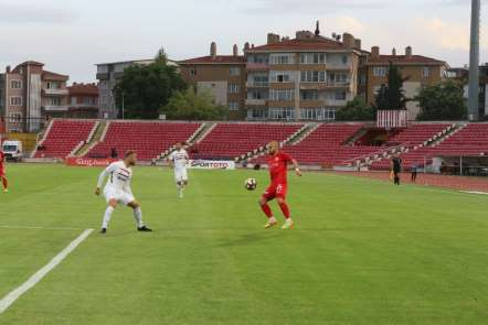 Spor Toto 1. Lig: Balıkesirspor Baltok: 0 - Gazişehir Gaziantep: 1 (İlk yarı son