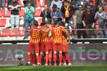 Kayserispor'un 32 ve 33.haftadaki maçları belli oldu