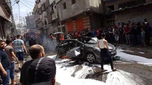 İsrail'in hava saldırısında 1 Filistinli hayatını kaybetti