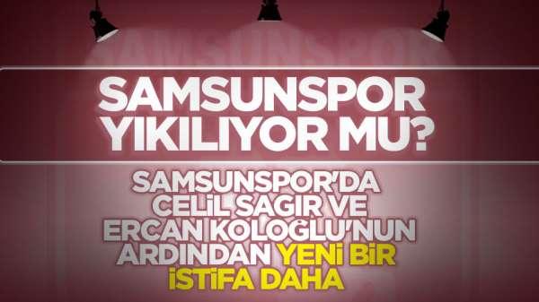 Samsunspor'un sevilen isimleri tek tek istifa ediyor