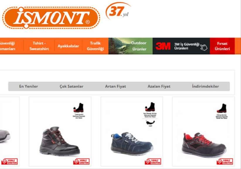 YDS İş Ayakkabısı Fiyatları ve Modelleri İçin İşmont