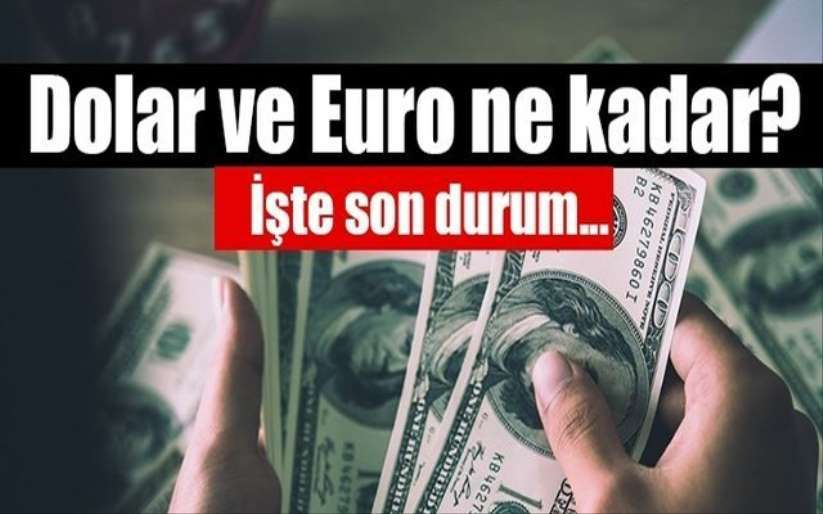 Dolar kuru bugün ne kadar? 5 Ağustos 2020 dolar ve euro fiyatları