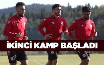 Samsunspor'da İkinci Kamp Başladı