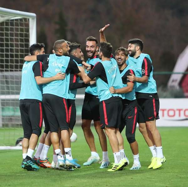 A Milli Takım, Riva'da hazırlıklarını sürdürüyor