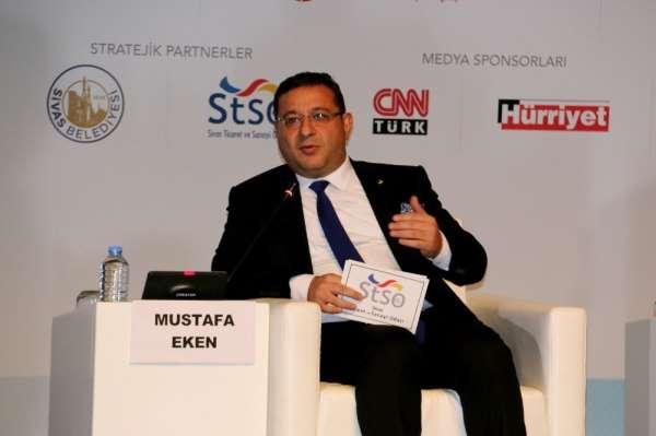 Eken, Orta Anadolu Ekonomi Forumunda Sivas'ı anlattı