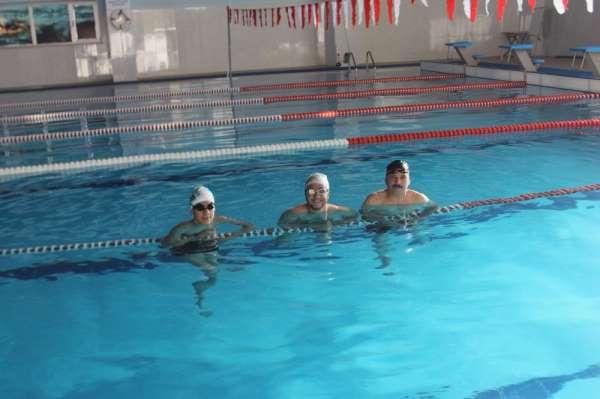 Engelliler haftanın 5 günü antrenman yaparak şampiyonaya hazırlanıyorlar
