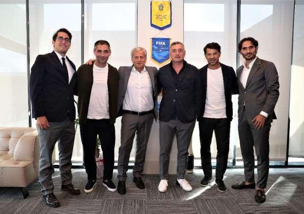 Gürcistan Futbol Federasyonu'ndan TFF'ye ziyaret