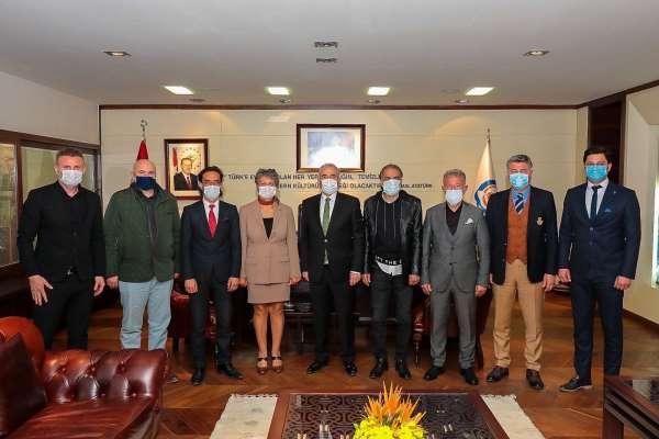 ASKFnin yeni yönetimi Başkan Zolan ile görüştü