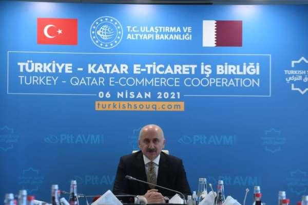 Bakan Karaismailoğlu: turkishsouq.com platformu üzerinden 47 farklı ülkeye ürün ihraç edilir hale gelinmişt