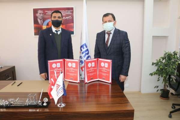 Gençlik ve Spor İl müdürlüğü ile Erciyes koleji arasında işbirliği protokolü imzalandı
