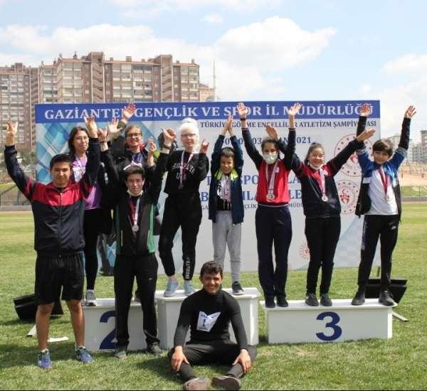Görme engelliler Türkiye şampiyonasından madalyalarla döndü