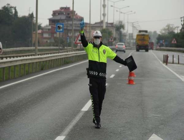 Ordu en çok trafik cezası kırmızı ve hız sınırı ihlallerine kesiliyor
