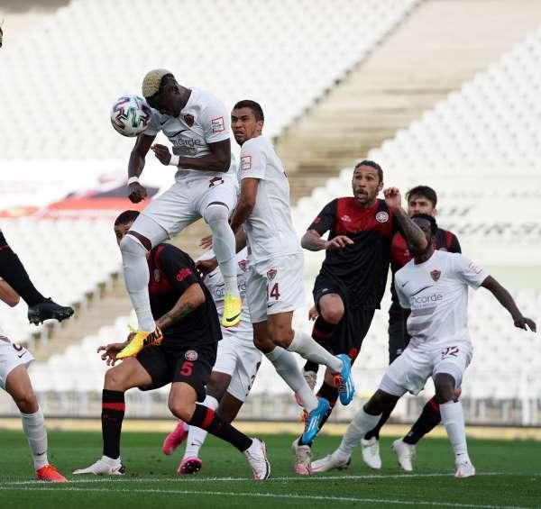 Süper Lig: Fatih Karagümrük: 1 - Atakaş Hatayspor: 0