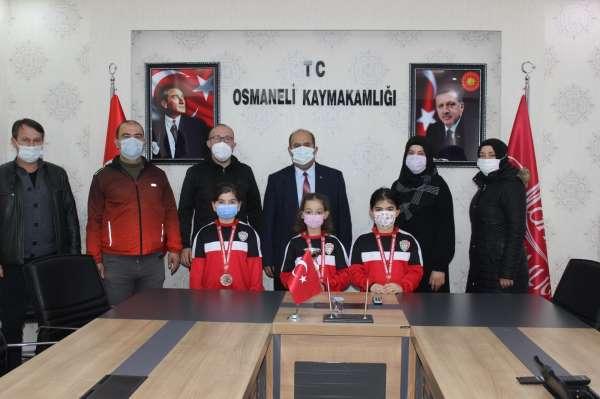 Türkiye Karate Şampiyonasında takım olarak Türkiye 3üncüsü oldular
