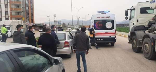 Zincirleme kazada 1 kişi yaralandı