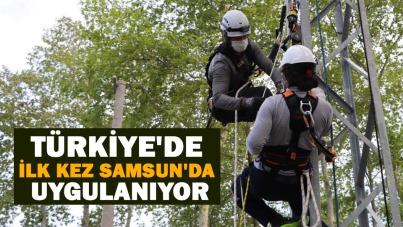 Türkiye'de ilk kez Samsun'da uygulanıyor