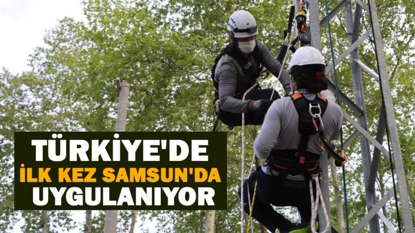 Türkiyede ilk kez Samsunda uygulanıyor