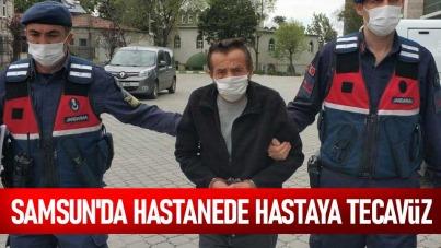 Samsun'da hastanede hastaya tecavüz