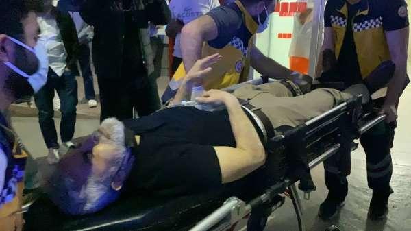 Bursada kavga ihbarına giden polis ekibine silahlı saldırı: 1i polis, 2 yaralı