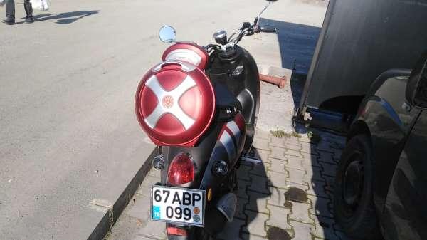 Ereğlide motosiklet kazası: 1 yaralı