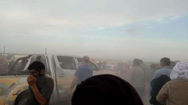 Suriyede mülteci kampında patlama: 5 yaralı