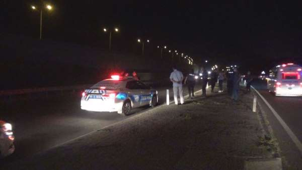 İzmirde feci kaza: 1 ölü