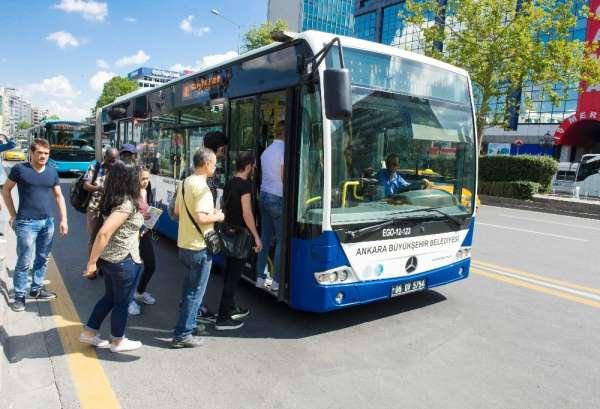 Hacettepe Üniversitesi Beytepe Kampüsü öğrencileri için 5 solo otobüs yarın ücre