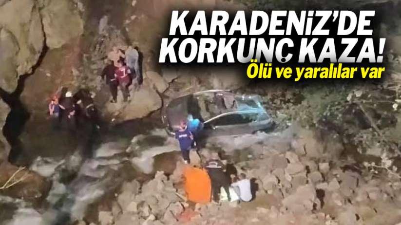 Karadeniz'de korkunç kaza! Ölü ve yaralılar var
