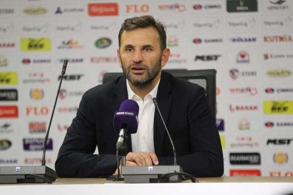 Okan Buruk: 'Avrupa maçı sonrası kazandığımız için mutluyuz'