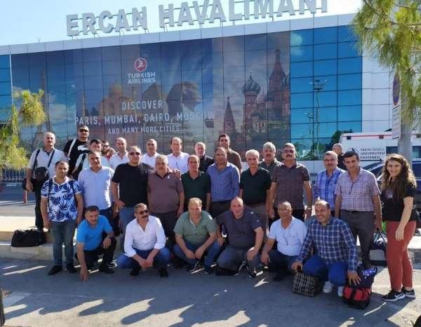 Trabzon sanayi esnafı Kıbrıs'ı gezdi
