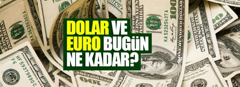 Dolar bugün kaç para? 6 Ekim Salı dolar kuru bugün