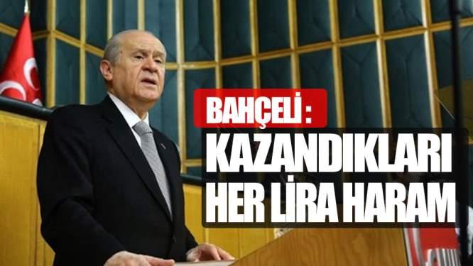 Bahçeli'den Zehir Zemberek Sözler!