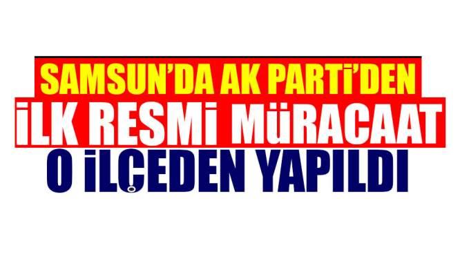 AK Parti'de İlk Resmi Müracaat Yapıldı