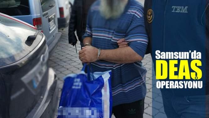 Samsun'da DEAŞ'tan 1 Kişi Yakalandı