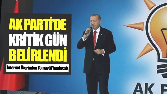 AK Parti Kritik Günü Belirledi!