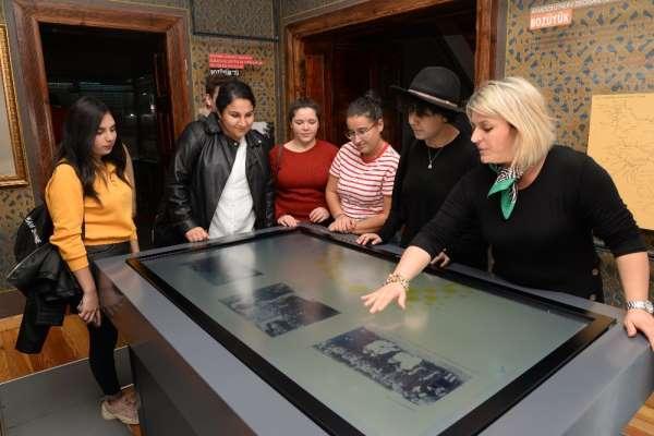 Bilecik Şeyh Edebali Üniversitesi öğrencilerinden müzeye ziyaret