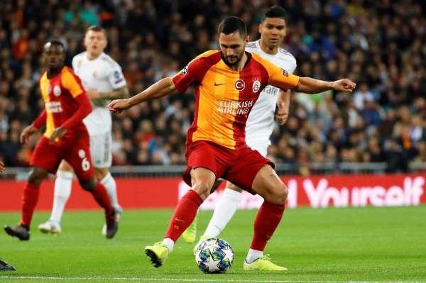 UEFA Şampiyonlar Ligi: Real Madrid: 4 - Galatasaray: 0 (İlk yarı)