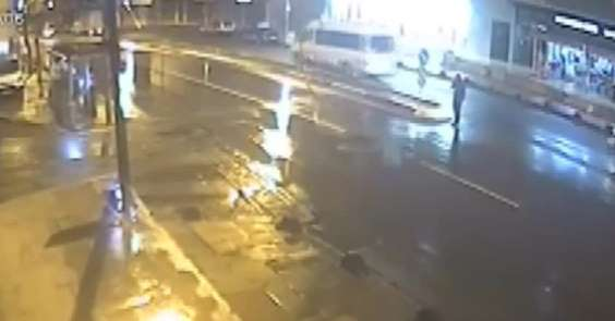 (Özel) Sultanbeyli'de feci kaza kamerada