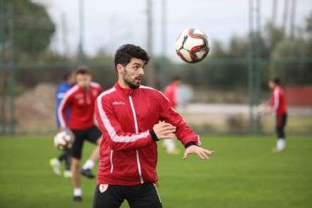 Samsunspor'da ikinci yarı hazırlıkları sürüyor