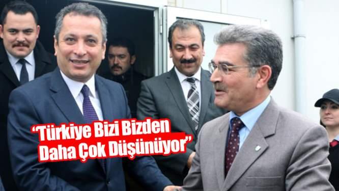 'Türkiye bizleri bizden çok daha düşünüyor'