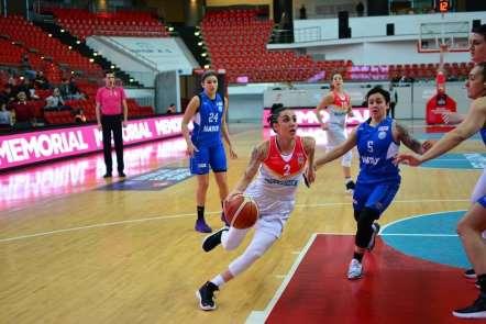 Bellona Kayseri Basket: 65 - Hatay BBspor: 67